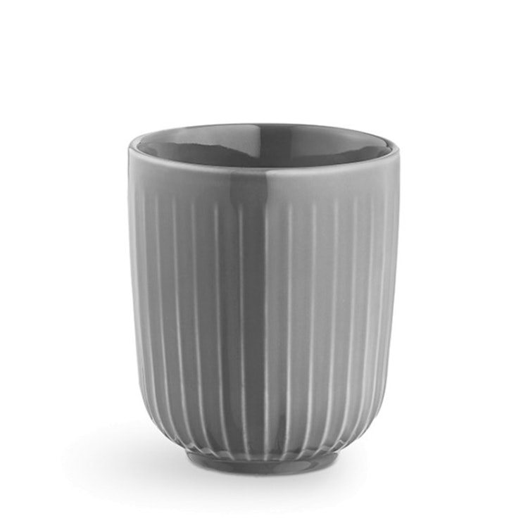 Hammershøi kopp 30 cl, marble, Kähler