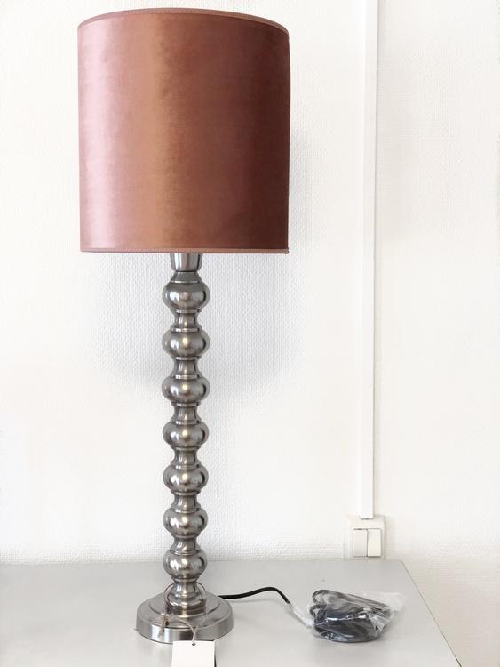 Lampskärm Roma, rosa 201, Hallbergs belysning
