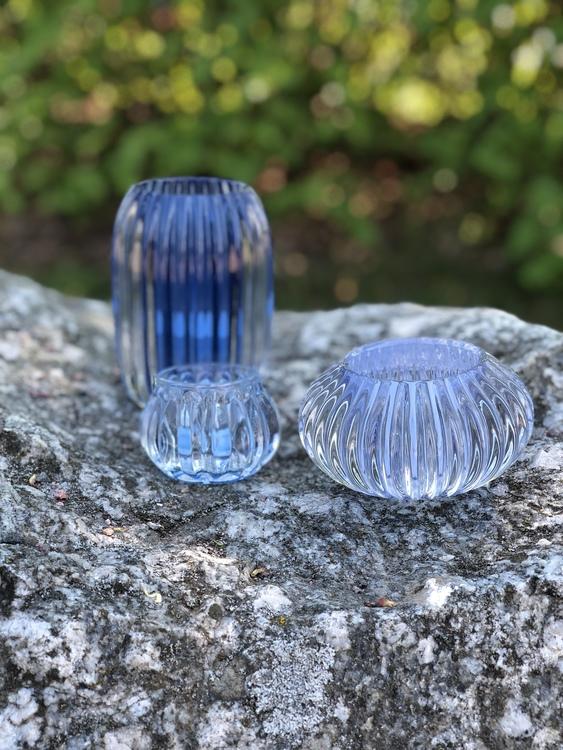 Vega ljuslykta S, ljusblå
