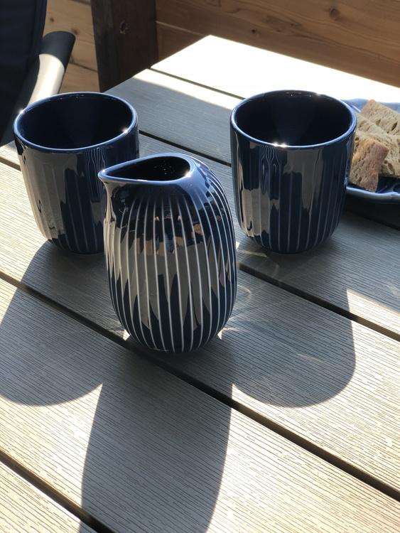 Hammershøi kopp 30 cl, indigo, Kähler