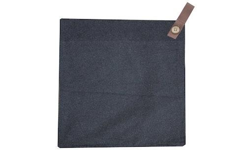 Kuddfodral Tullstorp, mörkgrå