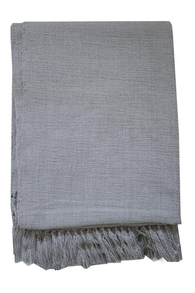 Pläd, Mysinge, grå, filt