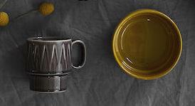Kaffemugg, Sagaform, grå