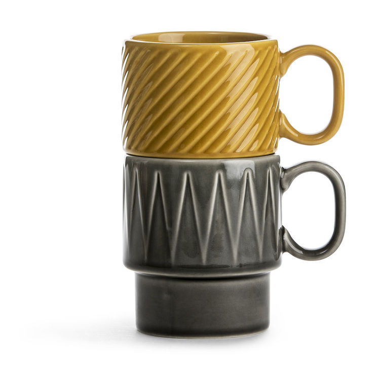 Kaffemugg, Sagaform, gul