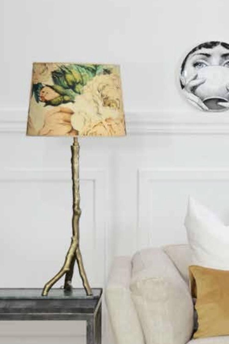 Lampskärm The Rose 30, tyg Designers Guild, Hallbergs belysning