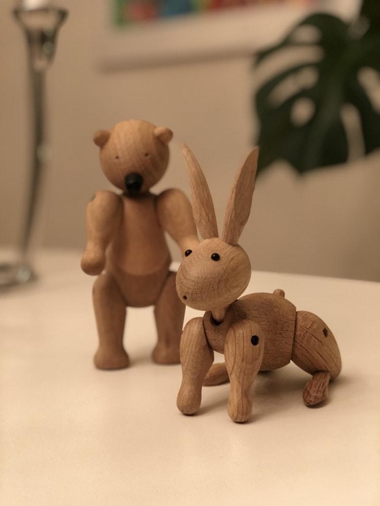 Kay Bojesen, kanin, björn