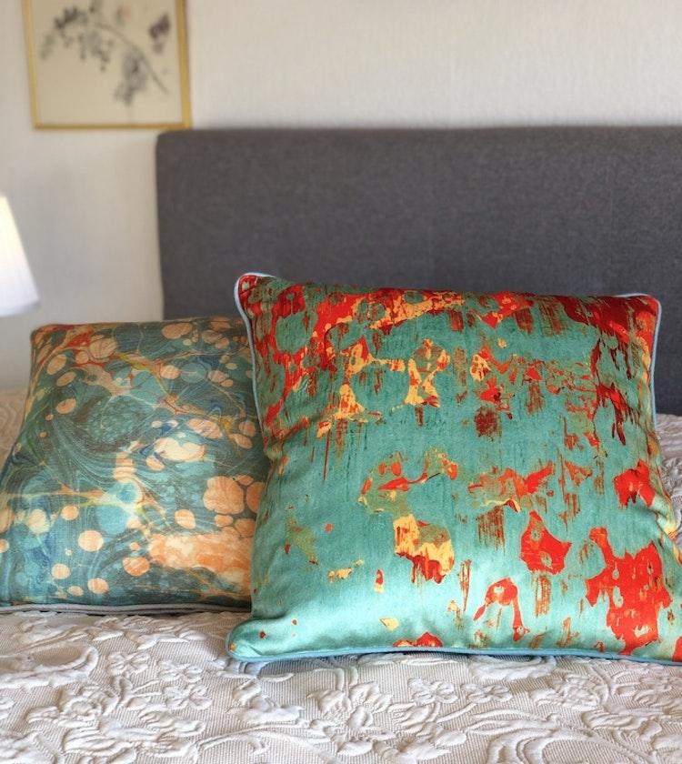 Kudde, Gelo Verdino och Fantasy Tapestry från Susi Bellamy