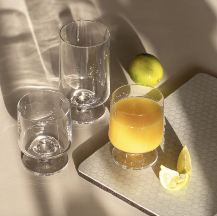 Glas Stub, 36 cl, 2-pack, Holmegaard, 21 cl, 4-pack