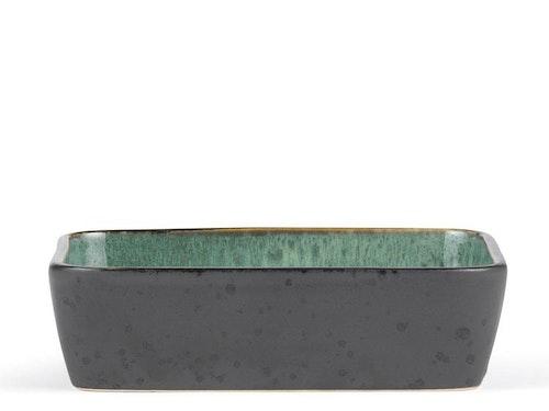 Fat, Bitz, 30x17 cm, svart/grön