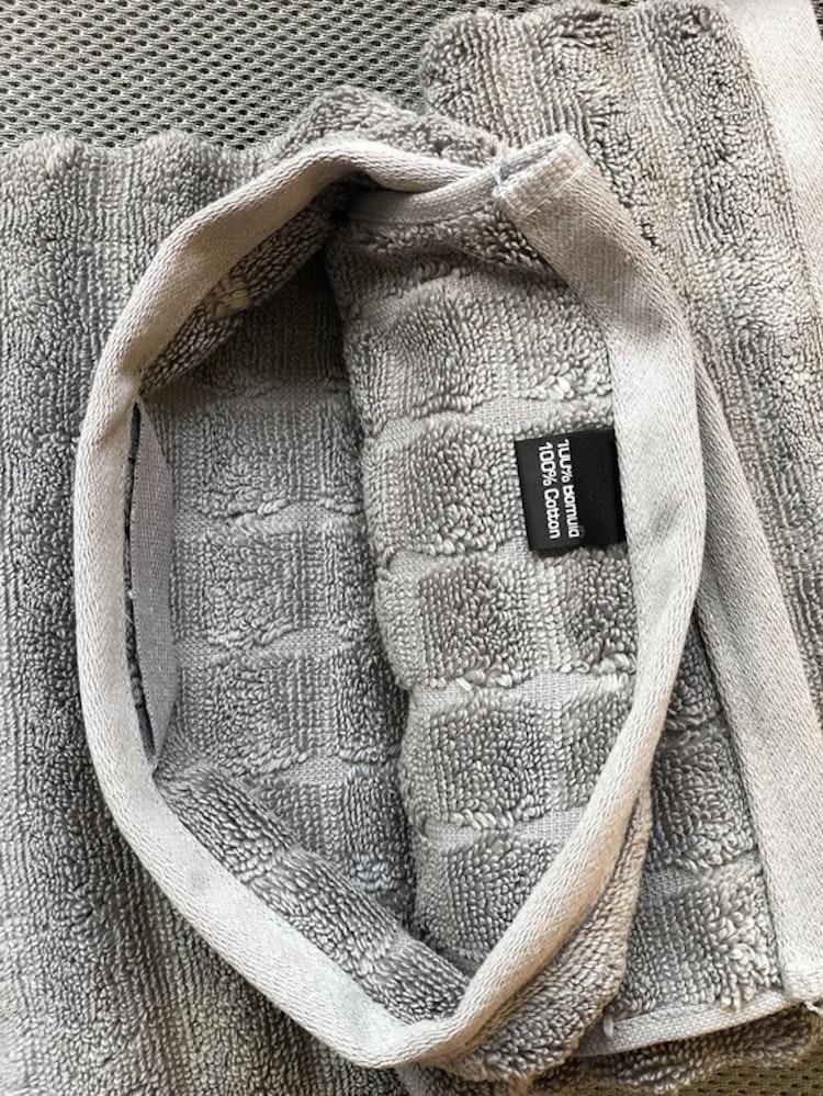 Handuk Prime, 50x100, gull grey, Zone Denmark