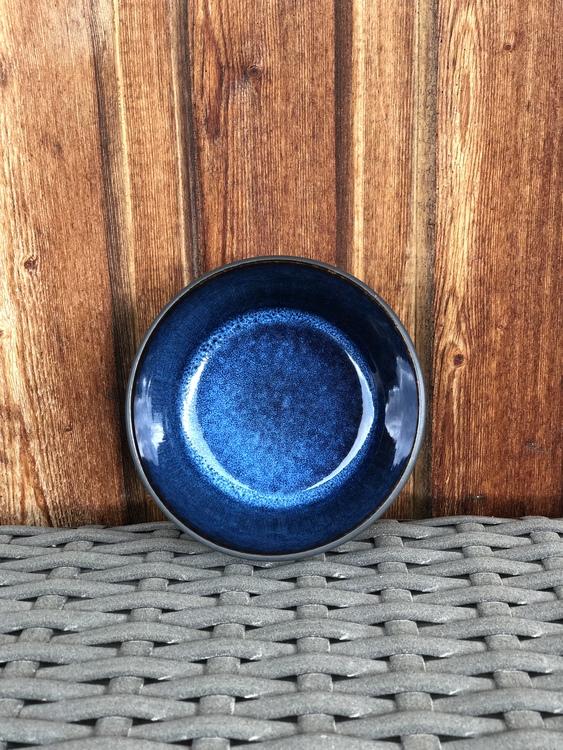 Skål Bitz, 14 cm, svart/mörkblå