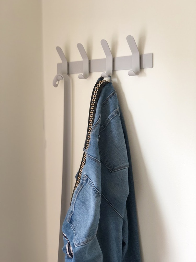 Hängare A-Rack, soft grey, Zone Denmark