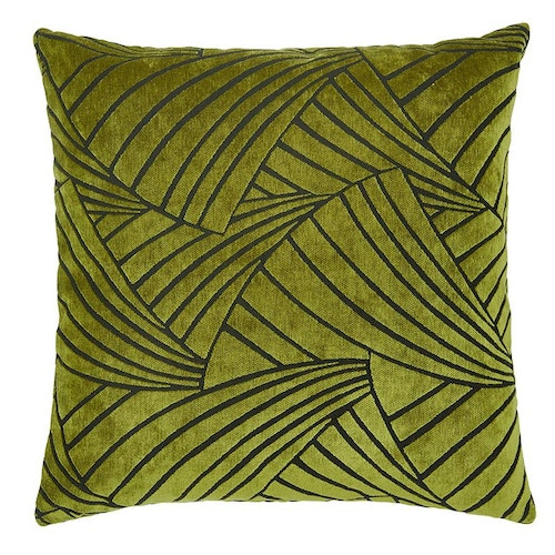 Kuddfodral Victorious, green, 60x60 cm, Jakobsdals textil