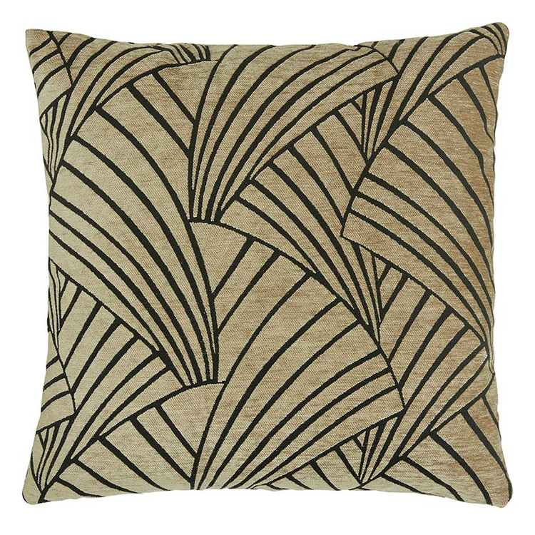 Kuddfodral Victorious, sand, 60x60 cm, från Jakobsdals textil
