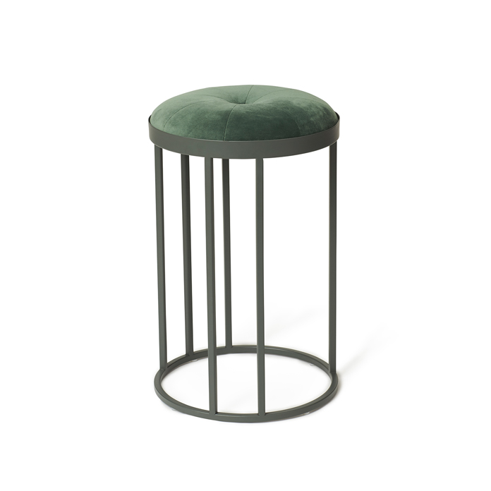 Daisy stool, Forest green, Warm Nordic
