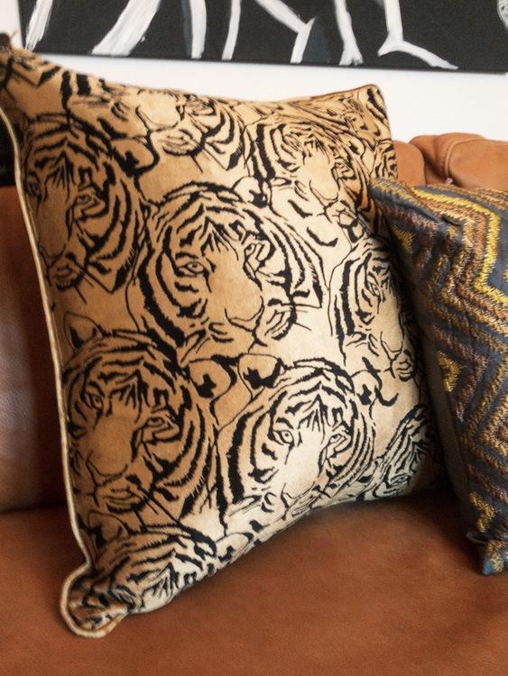 Kuddfodral Elegant, multi, 50x50 cm, Jakobsdals textil