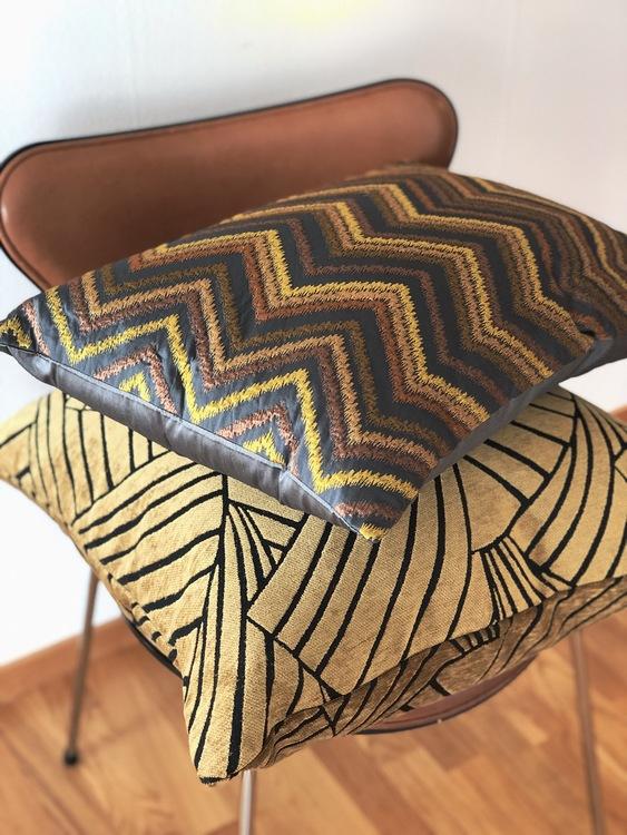 Kuddfodral Victorious, gold, 60x60 cm, Jakobsdals textil, kuddfodral Pure decor