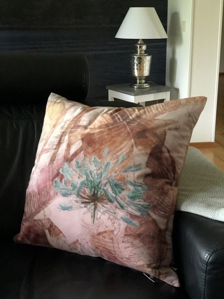 Kuddfodral Temptation, pink, 60x60 cm, Jakobsdals textil