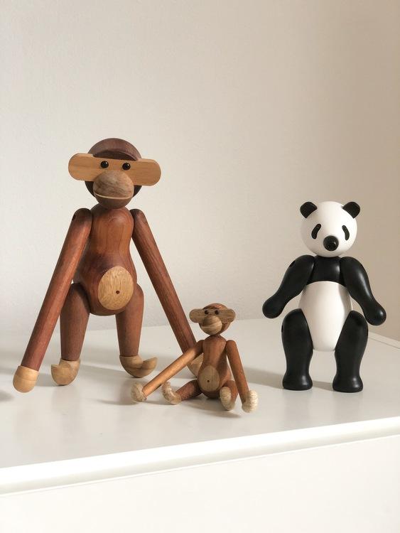 Kay Bojesen, panda liten apa liten, apa mini