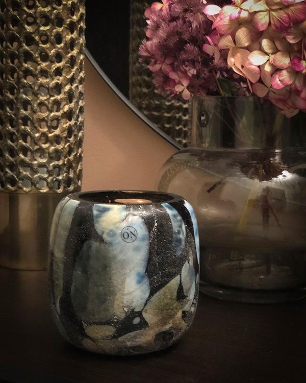 Ljuslykta Midnight, 10 cm, ByOn