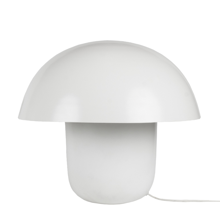 Bordslampa Carl-Johan, liten, vit, Olsson & Jensen, svamplampa