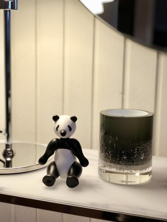 Kay Bojesen, panda liten, Hurricane Soda black, Skogsberg&Smart