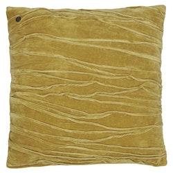 Kuddfodral Traces, gul, Jakobsdals textil