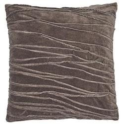 Kuddfodral Traces, grå, Jakobsdals textil