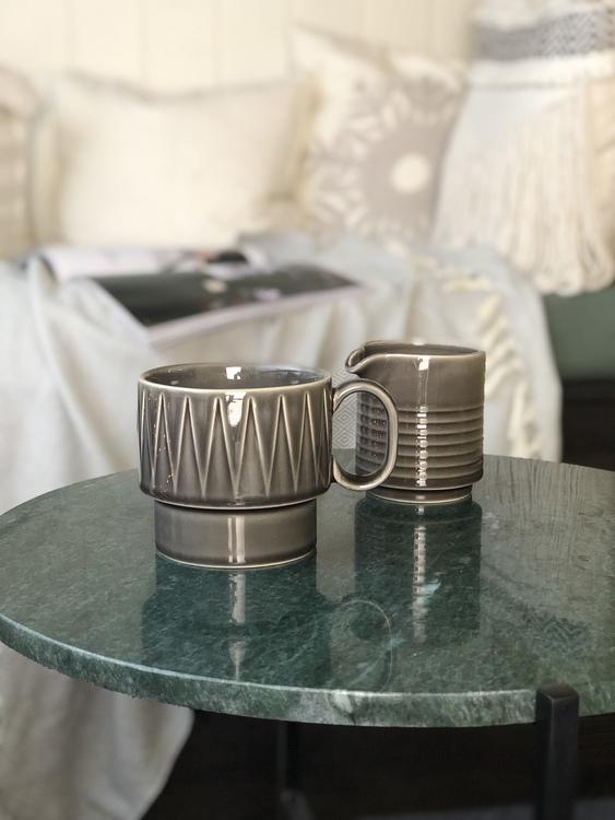 Temugg, mjölkkanna, Coffee & More, grå, Sagaform