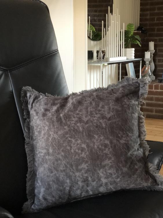 Kuddfodral Gina, grå