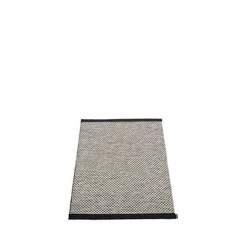 Matta EFFI Black/Warm grey/Vanilla, 60x85 cm, Pappelina