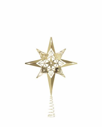 Toppstjärna, förgylld, 32 cm, Karen Blixen, Rosendahl