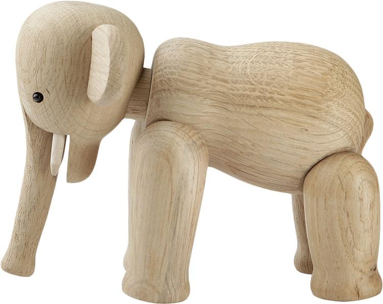 Kay Bojesen, elefant mini, ek, träfigur
