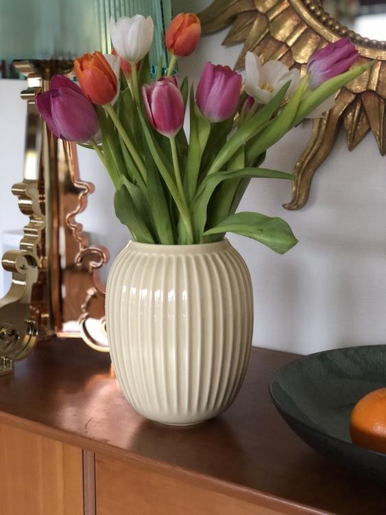 Vas Hammershøi 21 cm, björk, Kähler, keramik