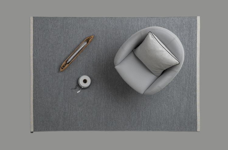Matta MONO Granit/Grey, 60x250 cm, Pappelina
