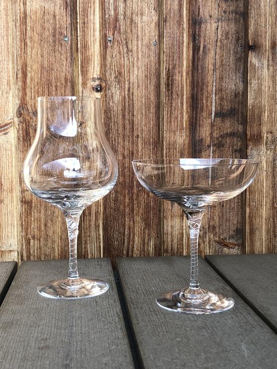 Crystal magic vinglas, clear, 42 cl, Kosta Boda, coupe 20 cl