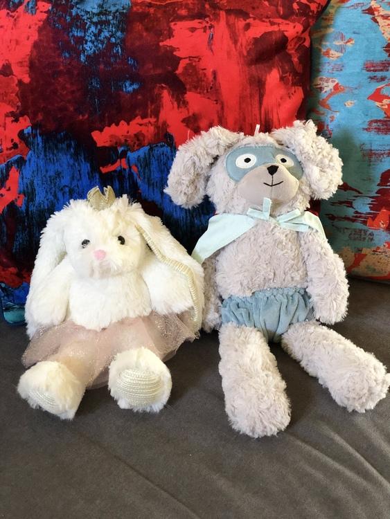 Gosedjur, Kaninprinsessa, Bloomingville, gosedjur kanin, Superhjälte
