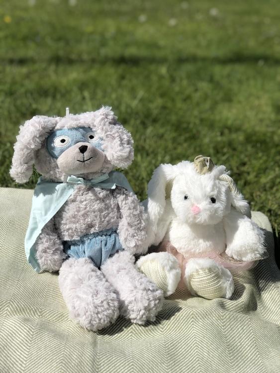 Gosedjur kanin, Superhjälte, Bloomingville, gosedjur Kaninprinsessa
