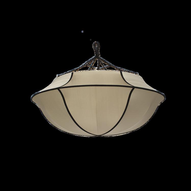 Lampskärm Indochina, Umbrella , kit, siden, Oi Soi Oi