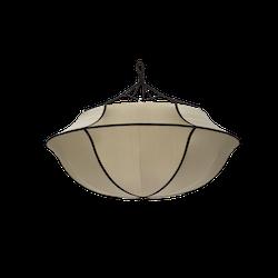 Taklampa Indochina, Umbrella , kit, siden, Oi Soi Oi