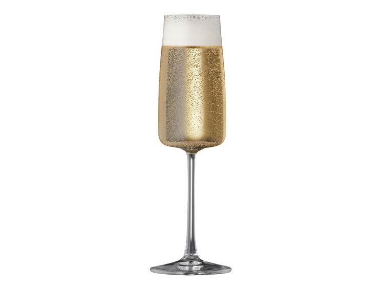 Champagneglas Zero 30 cl 4 st, Lyngby glas