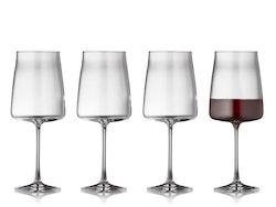 Rödvinsglas Krystal Zero 54 cl 4 st, Lyngby Glas