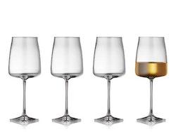 Vitvinsglas Krystal Zero 43 cl 4 st, Lyngby Glas