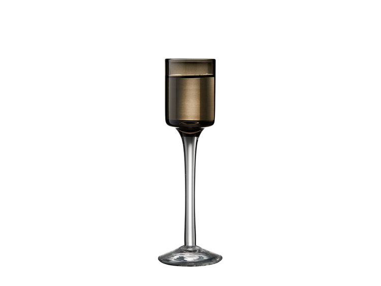 Snapsglas 6 st, blandade färger, Lyngby Glas