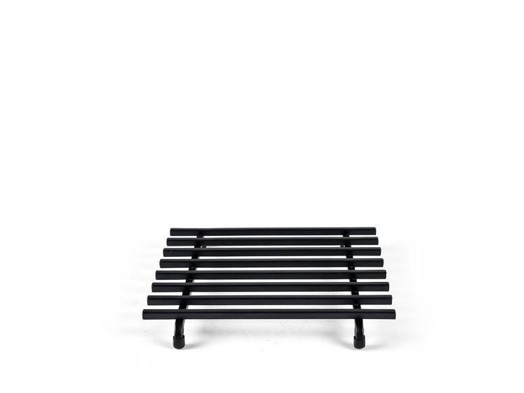 Grytunterlägg 25x25cm, svart, Morsø