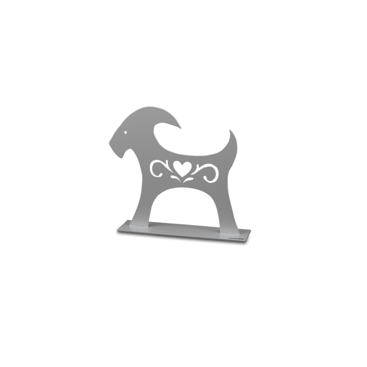 Julbock, 20 cm, vit, Lonneberg