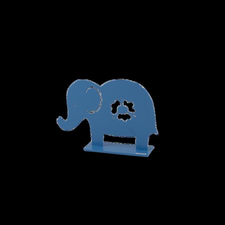 Elefant, 20 cm, ljusblå, Lonneberg