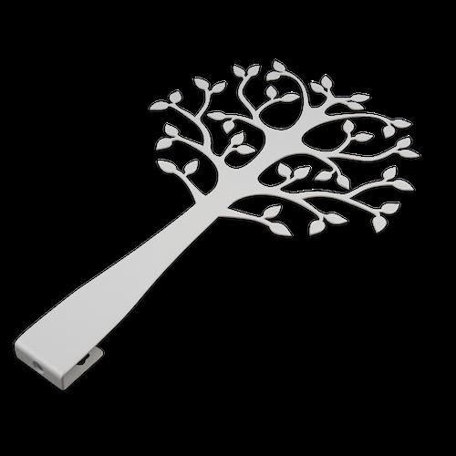 Träd för vägg, 120 cm, vit, Lonneberg