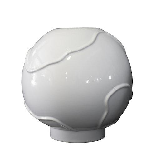 Vas Form Large, shiny white, DBKD