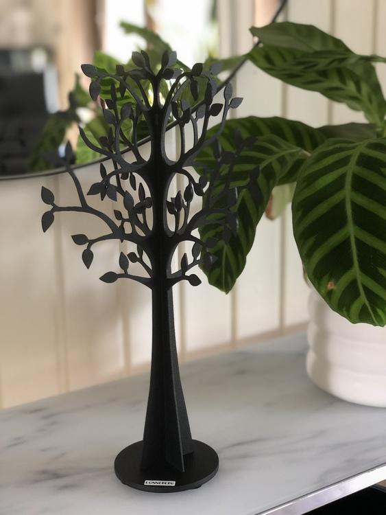 Dekorationsträd X-Träd glest, 30 cm, svart, Lonneberg